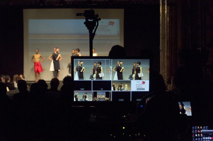 uno scatto da dietro la telecamera di Massimo Fornasier di MF Produzioni di Savona