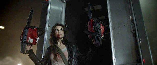 """Dead Rising: Watchtower"" (2015) Meghan Ory #DeadRising #Zombie #MeghanOry"