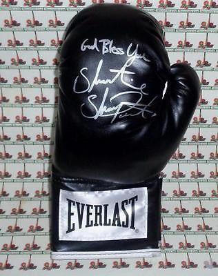 Shawn Porter autograph boxing glove COA Memorabilia Lane & Promotions