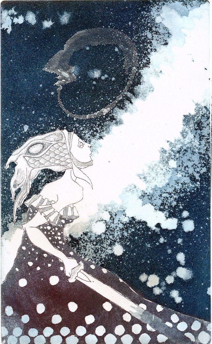 Seppo Alanissi - untitled, 2013, etching, aquatint & photoetching
