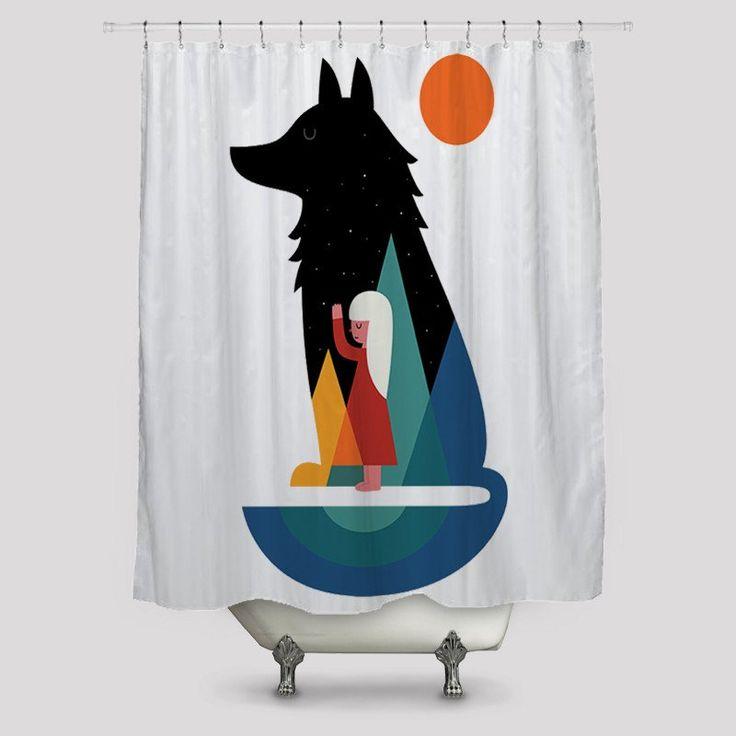 Woo I Pray Shower Curtains