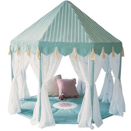 Spielhaus Pavillon türkis von Wingreen