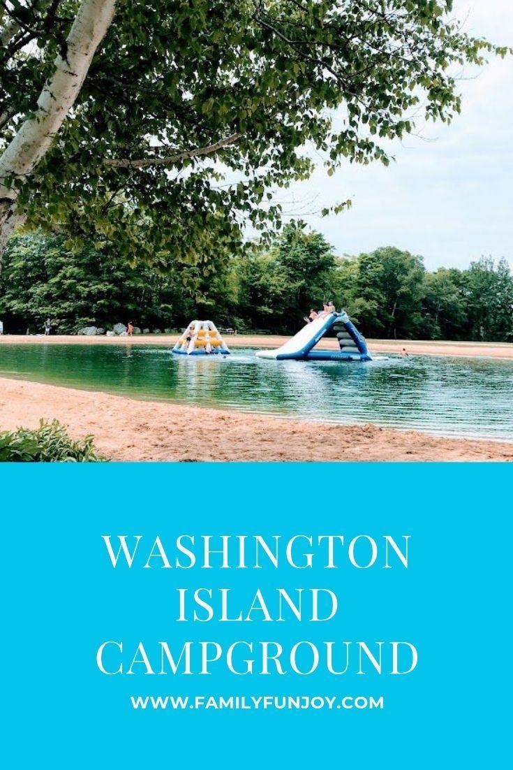 Washington Island Campground In Door County Family Fun Joy Washington Island Washington Island Wisconsin Door County Campgrounds