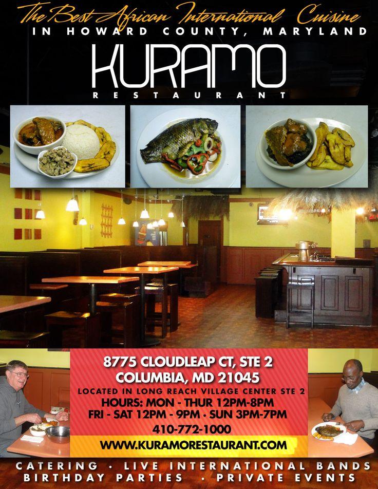 Kuramo Restaurant New Elegant African