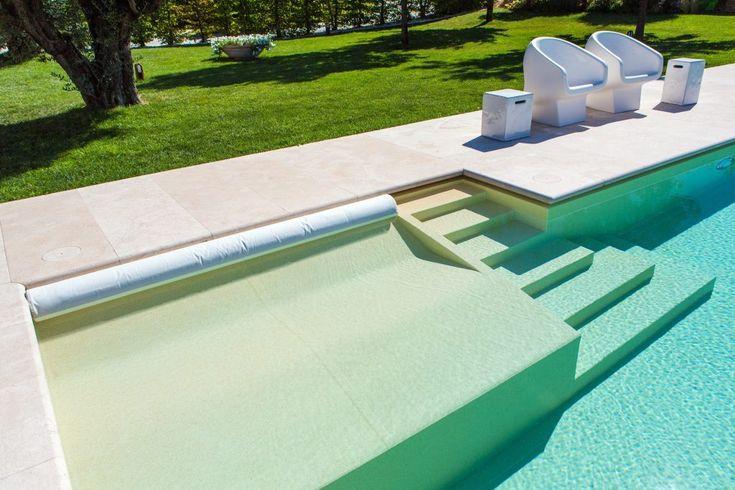 sécurité piscine : Escalier piscine