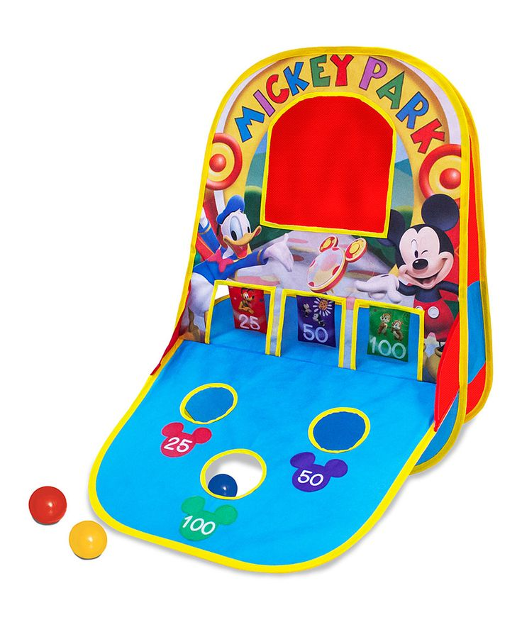 Another great find on #zulily! Mickey & Friends Triple-Shot Game by Mickey Mouse #zulilyfinds