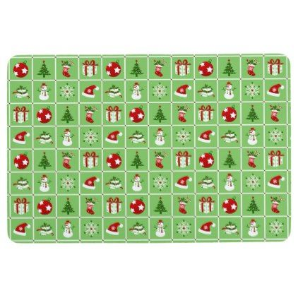 New Year pattern. Color Pictures. 2018. Floor Mat - Xmas ...