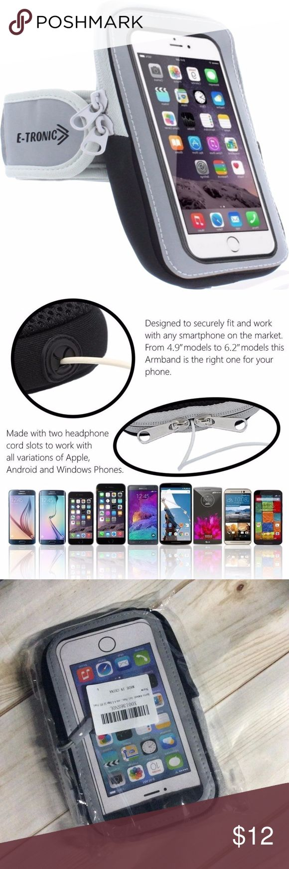 Sports Armband: Cell Phone Holder Case Arm Band Sports Armband: Cell Phone Holder Case Arm Band Strap With Zipper Pouch/ Mobile Exercise Running Workout For Apple iPhone 6 6S 7 Plus Touch Android Samsung Galaxy S5 S6 S7 Note 4 5 Edge LG HTC Pixel  box 4 Accessories Phone Cases