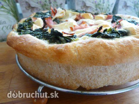 Fotorecept: Špenátový koláč