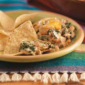 Spinach Cheese Dip Recipe