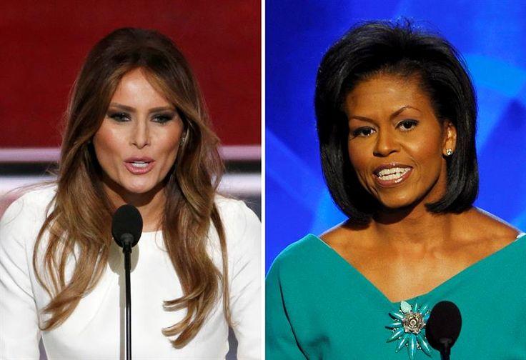 "Autora de discurso de Melania Trump admite que ""usó"" frases de Michelle Obama"