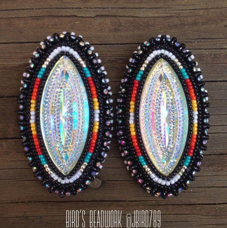 Pin By Hanna Ellis On Native Earrings Beaded Earrings