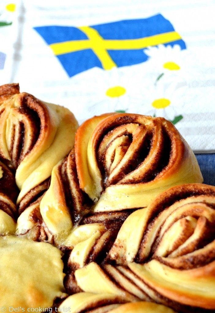 Swedish Cinnamon Star Bread (like a cinnamon bun)