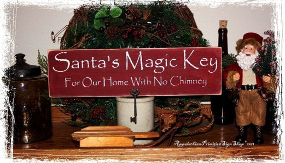 Hey, I found this really awesome Etsy listing at https://www.etsy.com/listing/104924788/santas-magic-key-for-our-home-with-no