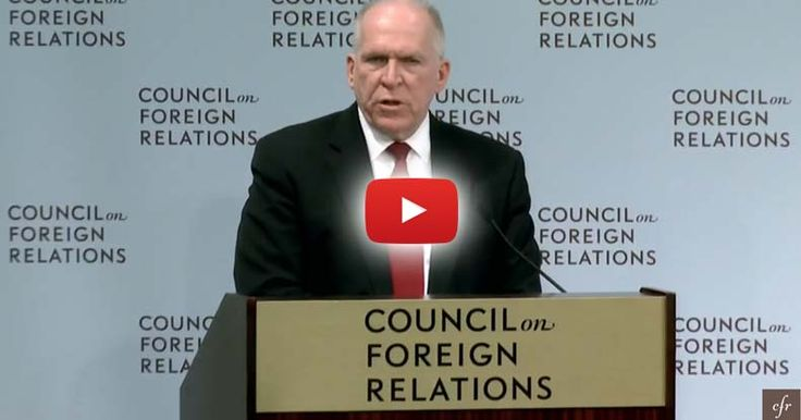 CIA Director addressed the Council on Foreign Relations and admitted his desire to conduct stratospheric aerosol injection.
