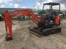 kubota w/ ultra low sulfur diesel engine apply to finance www.bncfin.com/apply excavators for sale - excavator financing