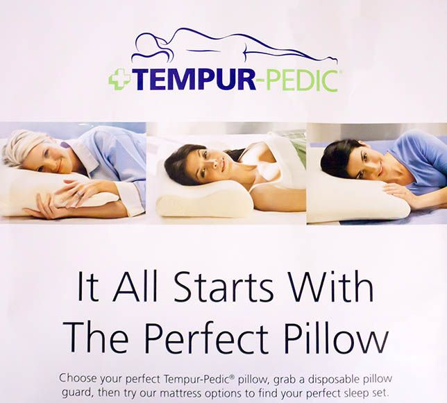 it all starts with the perfect pillow tempurpedic temperpedic greatsleep relaxation