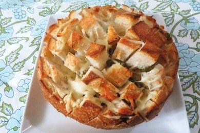 Хлеб с сыром и халапеньо - рецепт с фотографиями