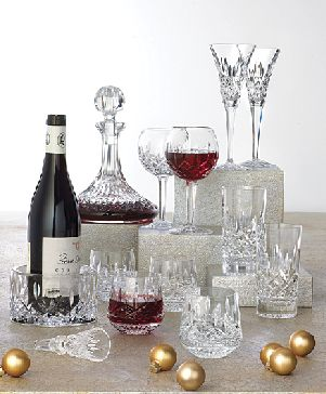 Crystal glassware, bar glasses, serving and display dishes.  I used to collect this stuff; God willing I will do so again.