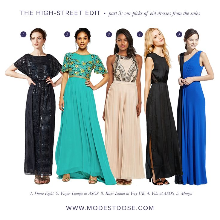 Part 3 of our high street sales edit. More dress suitable for eid/occasions.