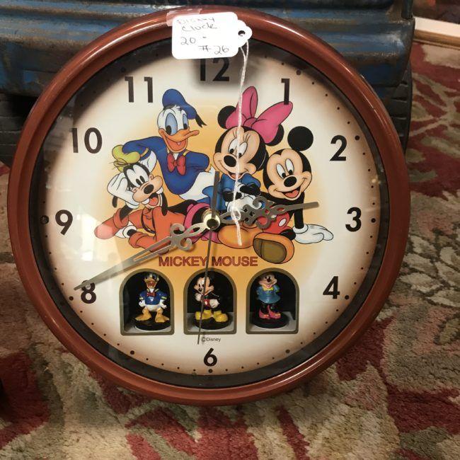 Disney Clock Disney Clock Mickey Mouse Wall Antique Clocks