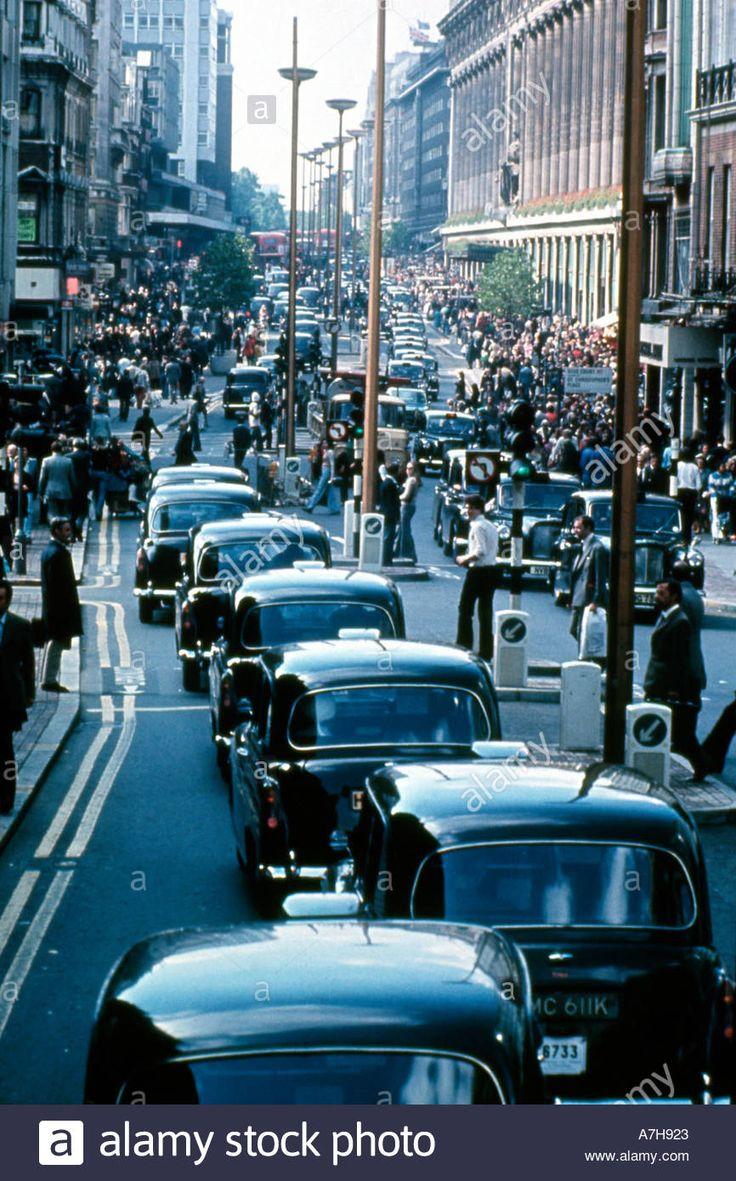 Oxford Street London England UK 1972 KATHY DEWITT