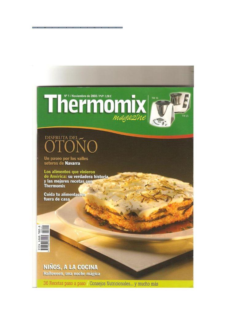 Revista thermomix nº1 disfruta del otoño