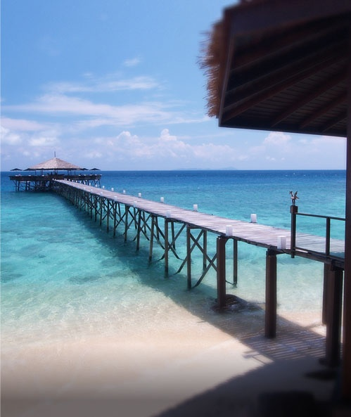 Japamala Resort, Tioman Island, Malaysia.