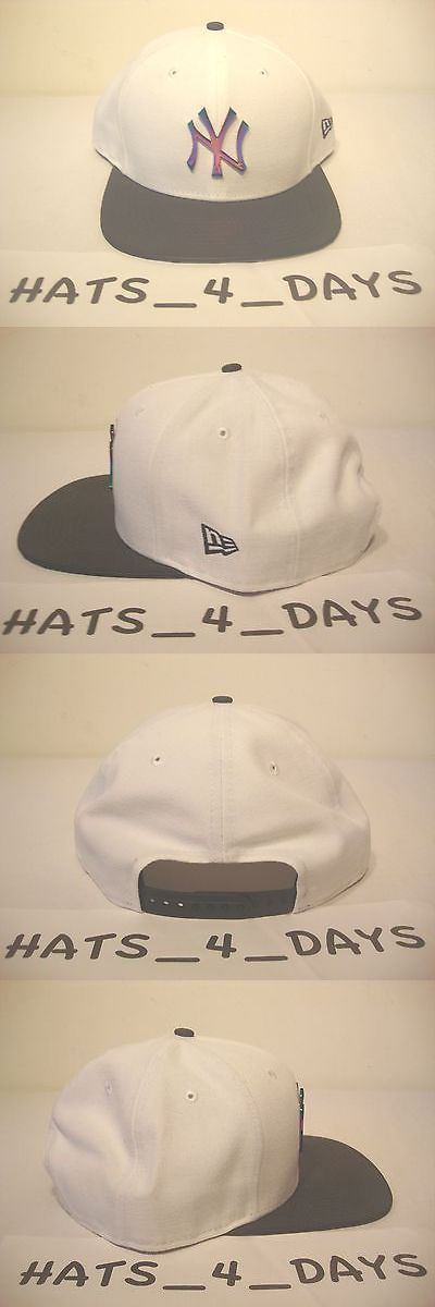 Hats and Headwear 159057: New Era New York Yankee White Black All Star Jordan Retro 1And6 3M Snapback Hat -> BUY IT NOW ONLY: $60.0 on eBay!
