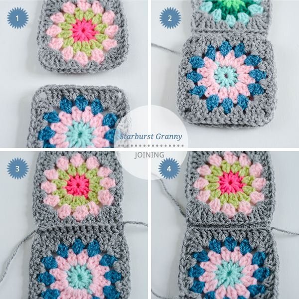 How To Crochet A Granny Square Beginners Tutorial : 17 Best images about Granny square scarves on Pinterest ...