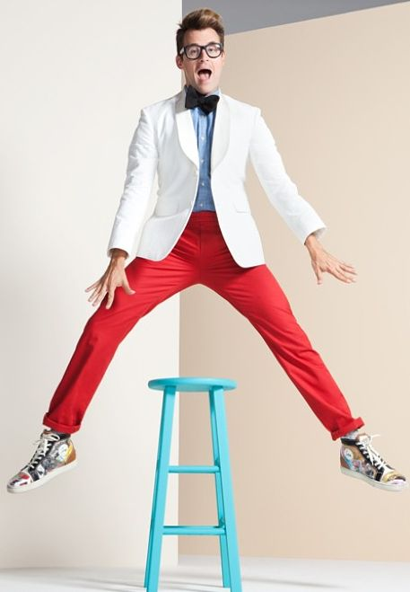Fashion Stylist, TV Personality, and Author, Brad Goreski, for StyleCaster's 2012 Editorial for The 25 Most Stylish LA on StyleCaster.com
