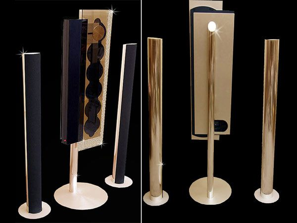 Bang & Olufsen home stereo system - GOLD!