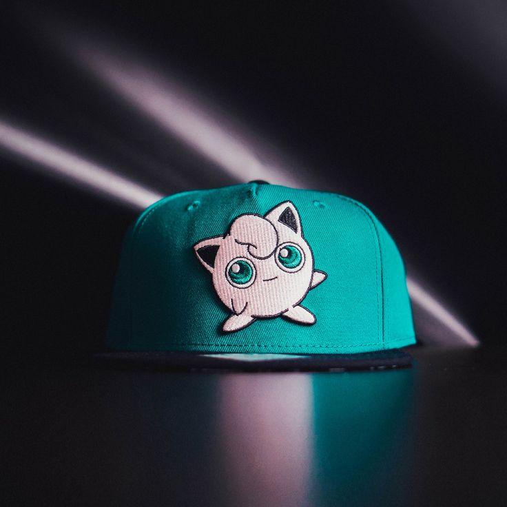 cool Snapback Baseball Cap Hat Pokemon Jigglypuff