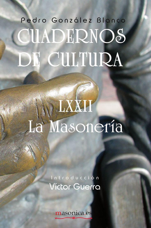 Con la reedición de un trabajo desconocido como este de La Masonería (1934) de Pedro González-Blanco deseo prestar la voz y la pluma a un lúcido masón asturiano para que nos muestre que ochenta años más tarde sus reflexiones siguen siendo vigentes y lúcidas.  Víctor Guerra.