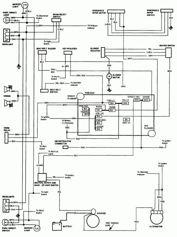 78 ford f100 wiring diagram  center wiring diagram end