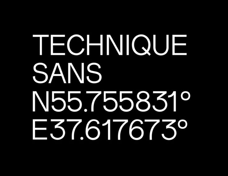 TECHNIQUE SANS – FREE MODERN GROTESQUE FONT