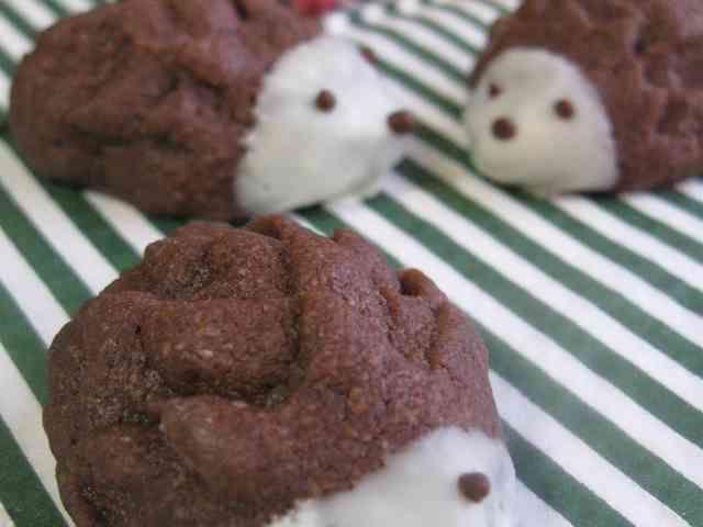 バレンタイン♪はりねずみクッキー☆の画像
