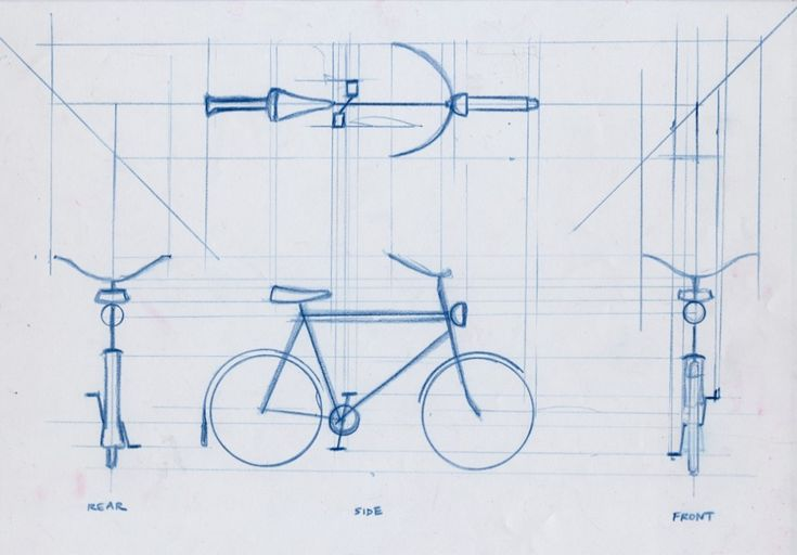 Orthographic: bike.