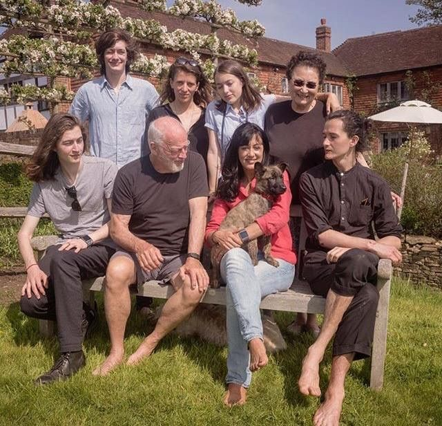 the gilmour family has a new puppy crosby david gilmour david gilmour pink floyd david. Black Bedroom Furniture Sets. Home Design Ideas