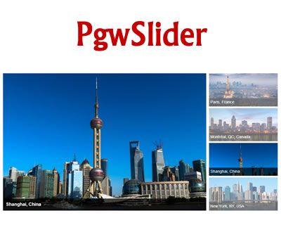 PgwSlider – Responsive Slider for jQuery #jQuey #responsive #slider #zepto #image