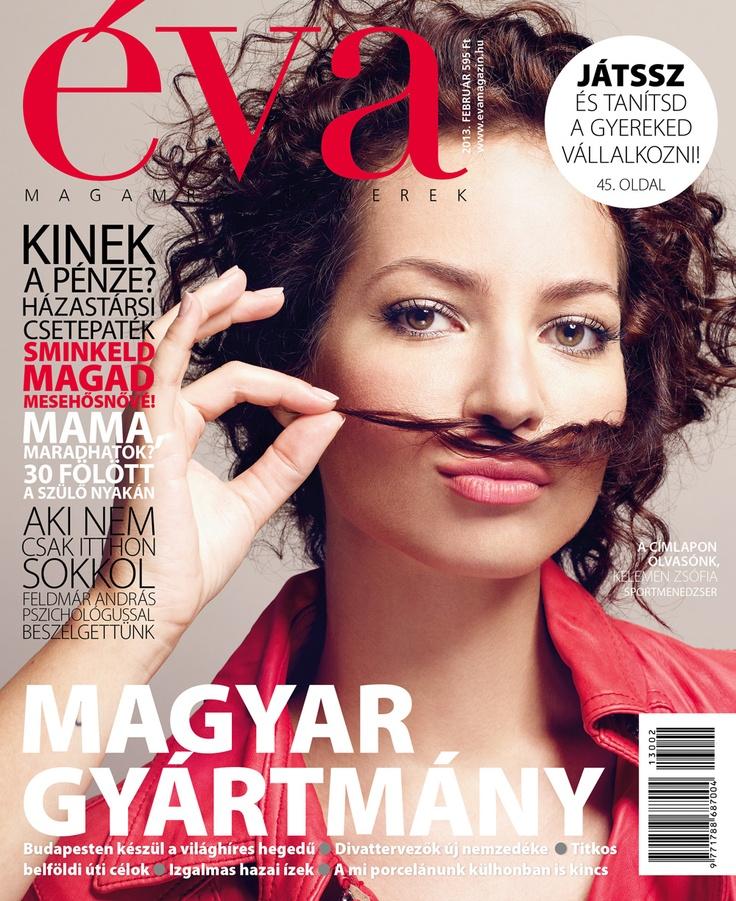 Éva, 2013. február. Magyar gyártmány, bajuszos változat. / Éva, February 2013. Made in Hungary, moustache version.