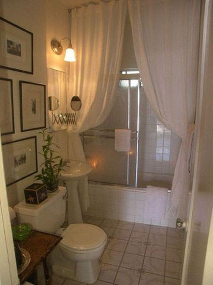 30 Amazing Spa Bathroom Decorating Ideas Small Apartment Bathroom Bathroom Decor Apartment Small Apartment Decorating