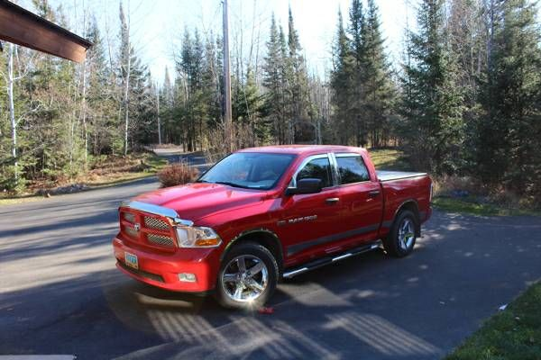 2012 dodge ram 1500 hemi (Ely minnesota) $17000: Sharp 2012 Dodge Ram 1500 hemi engine 72372 miles Never pulled more then an atv trailer in…