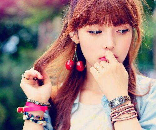 Park Hye Min Ulzzang  - Pony makeup - Pony Beauty Diar