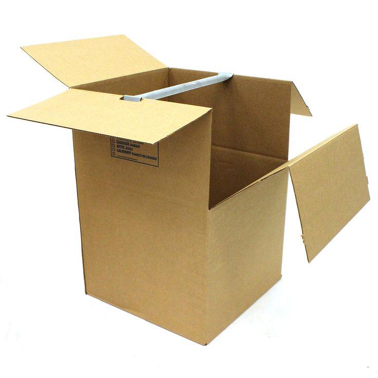 Large Cardboard Wardrobe Moving Box (Actual 24.8125-in x 35.8125-in)
