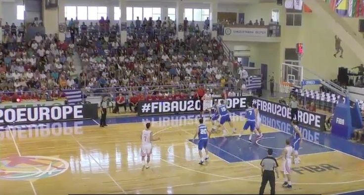 EOK - FIBA U20 | Live ΕΛΛΑΔΑ - Κροατία  (GRE-CRO 24.07.2016 18.45) Ευρωπαϊκό Πρωτάθλημα στην Χαλκίδα