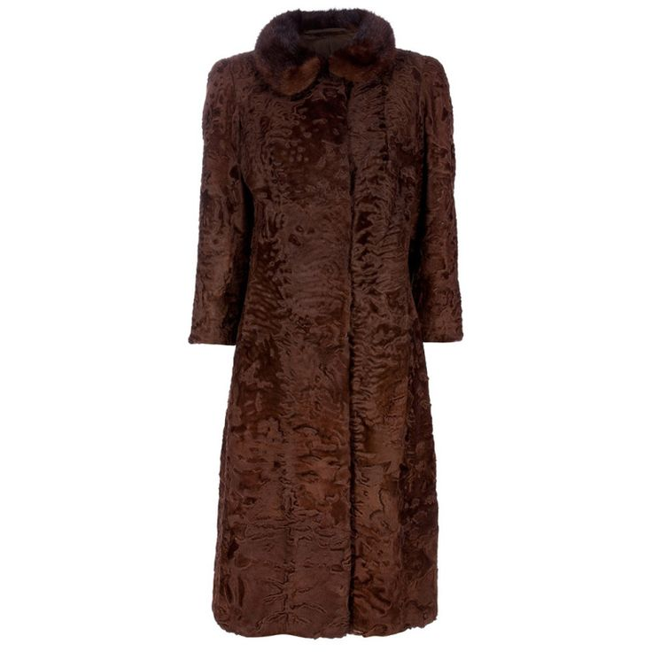 1920's Vintage Astrakhan Coat | From a collection of rare vintage coats and outerwear at http://www.1stdibs.com/fashion/clothing/coats-outerwear/