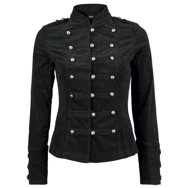 Black Velvet Jacket van H London. Bought this one last year in Camden Town London!!