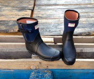 I want this: Trend du JOUR: Moto Boot Gummistiefel von Hunter + rag&bone