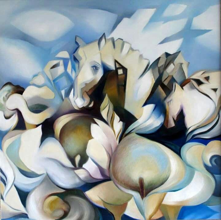 Painting by Rina Badenhorst